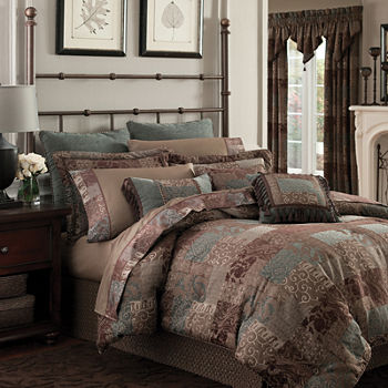sets collectis king iris townhouse perledonne set info comforters croscill comforter galleria multi