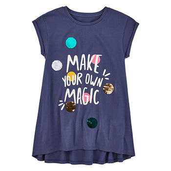 86d34def Girls Shirts & Tees for Kids - JCPenney