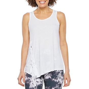 93f92b3a736c Active Tank Tops White Tops for Women - JCPenney