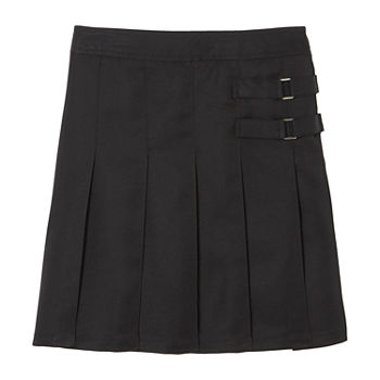 French Toast Little & Big Girls Adjustable Waist Scooter Skirt