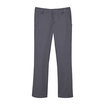 French Toast Little & Big Girls Bootcut Flat Front Pant