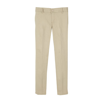 French Toast Little & Big Girls Skinny Flat Front Pant