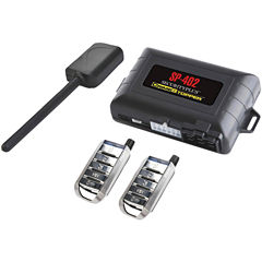CrimeStopper Security Products SP-402 Universal 1-Way Security & Remote-Start Combo