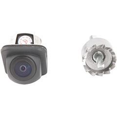 CrimeStopper Security Products SV-6818.EM.II 170°Embedded-Style Flush-Mount CMOS Color Camera withParking-Guide Lines