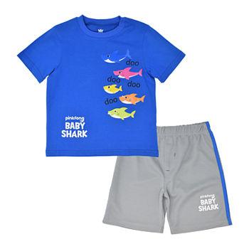 9de9097ac Pinkfong Baby Shark 2-pc. Short Set Toddler Boys