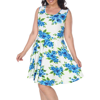 180b19aeef6 Plus Size Fit   Flare Dresses Dresses for Women - JCPenney