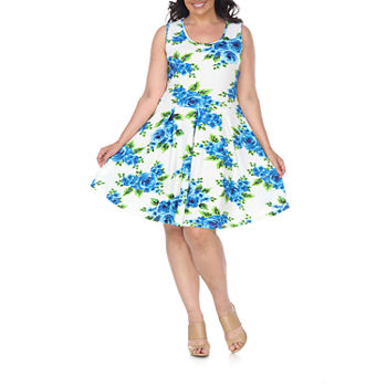 Plus Size Floral Dresses for Women - JCPenney