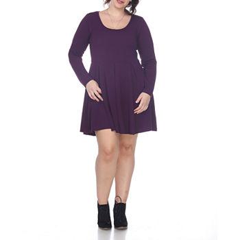 Plus Size Purple Dresses for Women - JCPenney