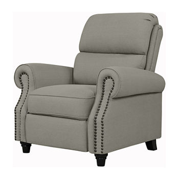 Anna Roll-Arm Push Back Recliner