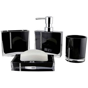 Superb Bath Accessory Sets Bathroom Accessories For Bed Bath Home Interior And Landscaping Fragforummapetitesourisinfo