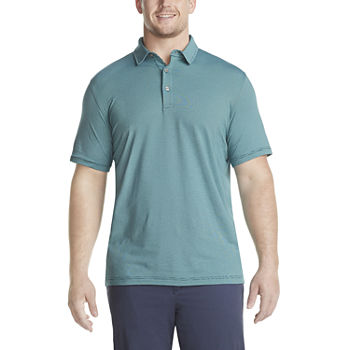 Van Heusen Big and Tall Mens Cooling Short Sleeve Polo Shirt
