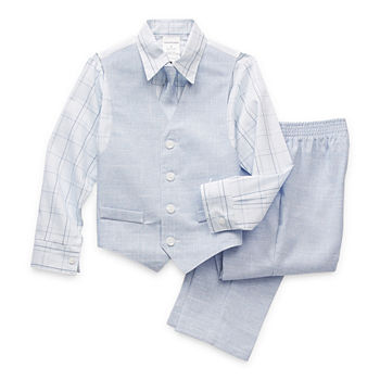 Van Heusen Little & Big Boys 4-pc. Suit Set