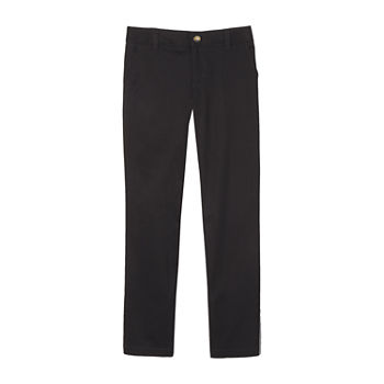 French Toast Little & Big Girls Straight Flat Front Pant