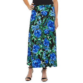 Black Label by Evan-Picone Womens Maxi Skirt