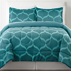 Home Expressions™ Carved Plush Comforter Set