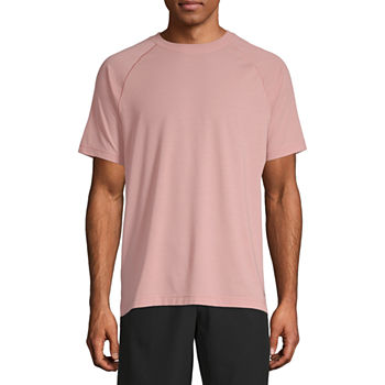 Msx By Michael Strahan Yoga Mens Crew Neck Short Sleeve T-Shirt