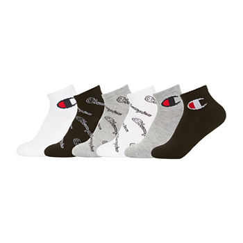 Champion Big Boys 6 Pair Quarter Socks