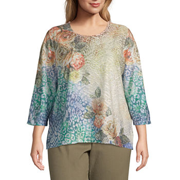 163f80bf099 Women Department: Alfred Dunner, Plus Size - JCPenney