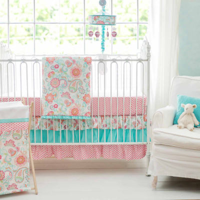 My Baby Sam Gypsy Baby 3 Pc. Modern Crib Bedding Set