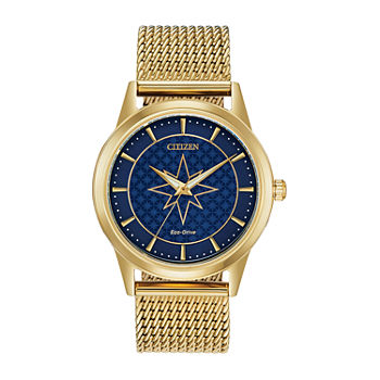 Citizen Marvel Womens Gold Tone Stainless Steel Bracelet Watch - Fe7062-51w