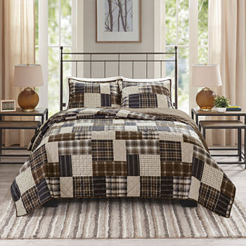 Madison Park Heavenly 3-pc. Reversible Coverlet Set