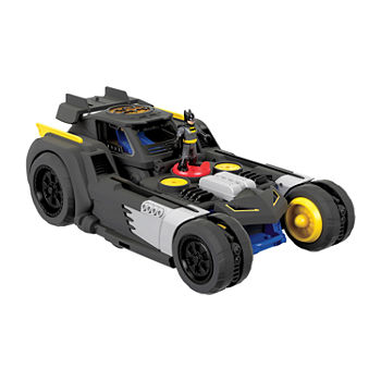 Imaginext Dc Super Friends Transforming Batmobile R/C