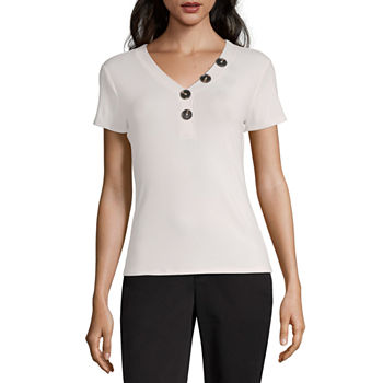 97597827ee8bd6 Women's Tops & Shirts for Sale | Casual & Dressy Blouses | JCPenney