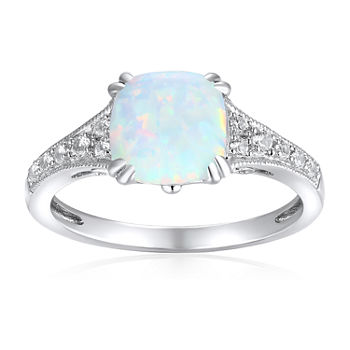 a4a5a586f October Birthstone, Opal Gemstone Jewelry - JCPenney