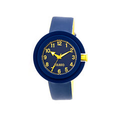 Crayo Womens Equinox Navy Strap Watch CRACR2806