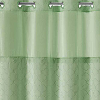 black dark green shower curtain. LOW PRICE EVERYDAY  Shower Curtains Rods Extra Long JCPenney