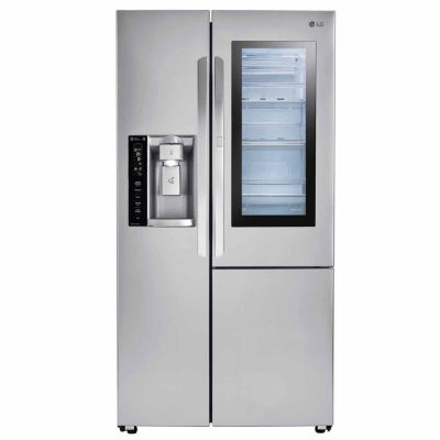 LG ENERGY STAR® 26.1 Cu.ft.Smart Wi Fi Enabled Side By Side Refrigerator  With InstaView™ Door In Door®