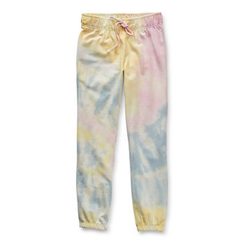 Arizona Little & Big Girls Cinched Jogger Pant