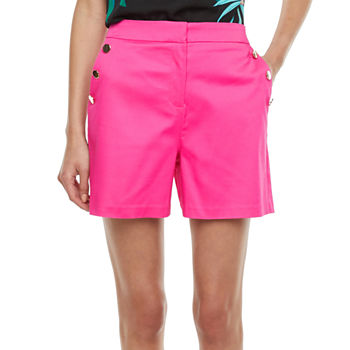 Worthington Fashion Womens Pull-On Short