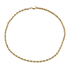 14K Yellow Gold Anklet Bracelet