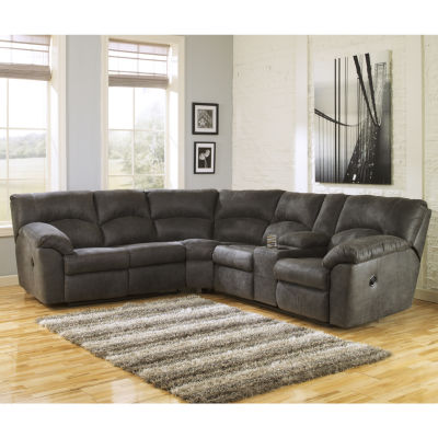 Signature Design By Ashley® Tambo Reclining 2pc Sectional