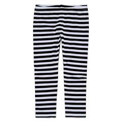 Okie Dokie Stripe Knit Leggings - Toddler Girls