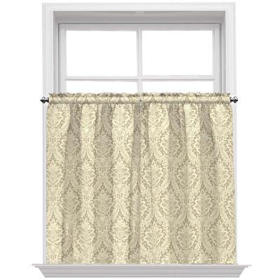 Waverly® Donnington Rod Pocket Window Tiers