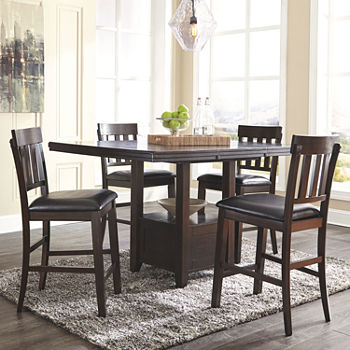 Signature Design by Ashley® Towson 5-Pc Counter Height Dining Set