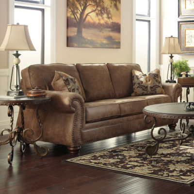 Charming Faux Leather   Sofas U0026 Couches Brown
