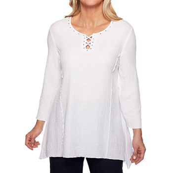 941f1666293 Alfred Dunner Tunic Tops for Women - JCPenney