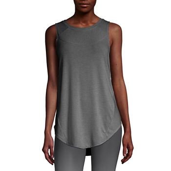 Xersion Womens Round Neck Sleeveless Tank Top