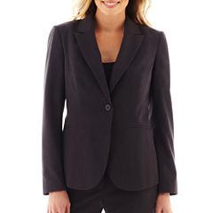 Liz Claiborne® One-Button Peak Lapel Blazer  - Tall