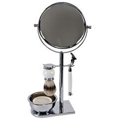 Harry D. Koenig 5-pc. Chrome Mirror Shave Set For Men