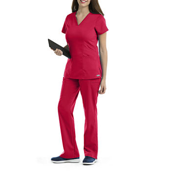 6665e56085b Grey's Anatomy Red Scrubs & Workwear for Women - JCPenney