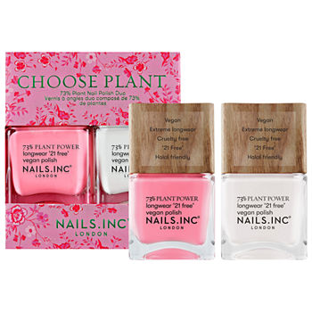 NAILS INC. Choose Plant Nail Polish Duo