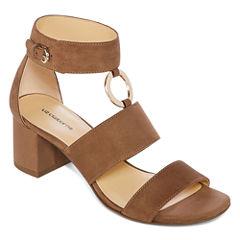 Liz Claiborne Sara Womens Heeled Sandals