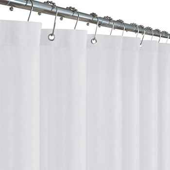Woven Shower Curtain Liner Curtains For Bed Bath