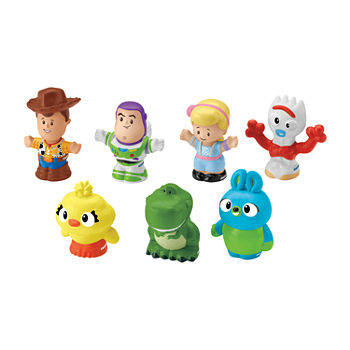 Fisher-Price Toy Story 4 7 Friends Pack By Little People
