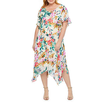 Plus Size Green Church Dresses for Women - JCPenney
