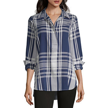 ad825191f2a2dc Tunic Tops Tops for Women - JCPenney